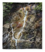 Waterfall At Lake Willoughby  Fleece Blanket