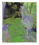 Waterfall Details Fleece Blanket