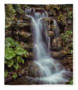 Waterfall In The Opryland Hotel Fleece Blanket