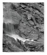 Waterfall Stream Fleece Blanket