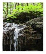 Waterfall Topper Fleece Blanket