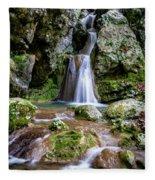Waterfall. Fleece Blanket