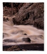 Waterfalls #1 Fleece Blanket