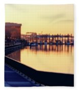 Waterfront Deep Fleece Blanket