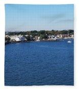 Waterfront Fleece Blanket