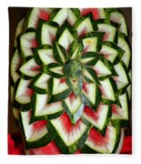 Watermelon Art Fleece Blanket