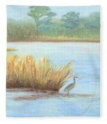 Waterside Fleece Blanket