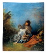 Watteau: False Step, C1717 Fleece Blanket