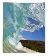 Wave Breaking Fleece Blanket