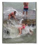 Wave Crasher Fleece Blanket