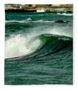 Wave Curl Fleece Blanket