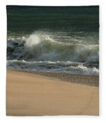 Wave Of Light - Jersey Shore Fleece Blanket