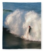 Wave Rider  Fleece Blanket
