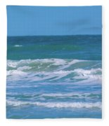 Wave Runner Fleece Blanket