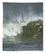 Wave Study Fleece Blanket