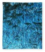 Waves Of Blue Fleece Blanket