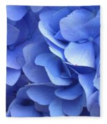Waves Of Blue Fleece Blanket