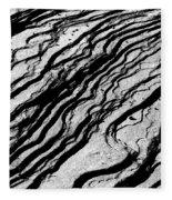 Waves Of Time Fleece Blanket