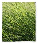 Waving Grass Fleece Blanket