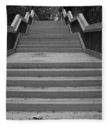Wavy Stairs Fleece Blanket