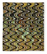 Wavy Waves Fleece Blanket