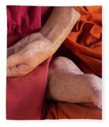Wax Monk Fleece Blanket