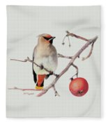 Waxwing Fleece Blanket