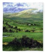 Way To Ardara Ireland Fleece Blanket