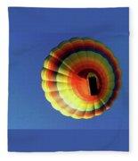 Way Up In The Air Fleece Blanket
