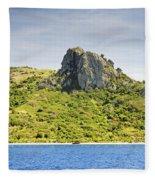 Waya Lailai Island Fleece Blanket