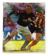Wayne Rooney Is Marshalled Fleece Blanket