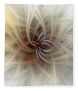 We Are All Connected Soft Abstract  Fleece Blanket