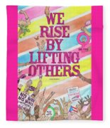 We Rise Fleece Blanket