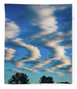 Weather Front Fleece Blanket