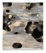 Weathered Driftwood Fleece Blanket