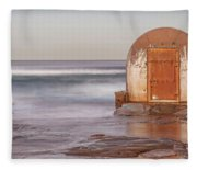 Weathered In Time Fleece Blanket