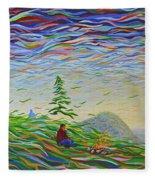 Weave Fleece Blanket
