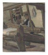 Weaver Nuenen, December 1883 - August 1884 Vincent Van Gogh 1853 - 1890 3 Fleece Blanket