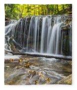 Weaver's Creek Falls Fleece Blanket