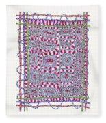 Weaving Fleece Blanket