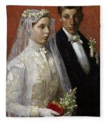Wedding Fleece Blanket