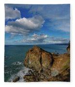 Wedding Rock Patrick Point Fleece Blanket