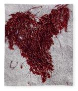 Weedheart Fleece Blanket