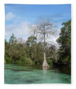 Weeki Wachee Springs Fleece Blanket