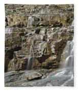 Weeping Wall Fleece Blanket