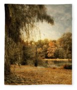 Weeping Willow Fleece Blanket