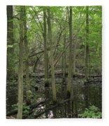 Wetlands Fleece Blanket