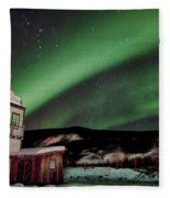 Welcome To Dawson City Fleece Blanket