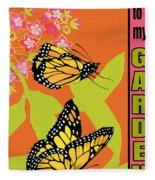 Welcome To My Garden-jp2828 Fleece Blanket