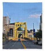 Welcome To Pittsburgh Pa Fleece Blanket